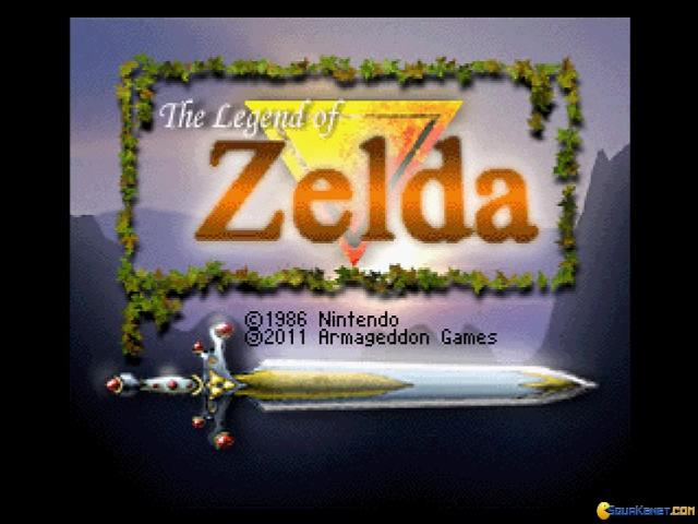 The Legend of Zelda - title cover