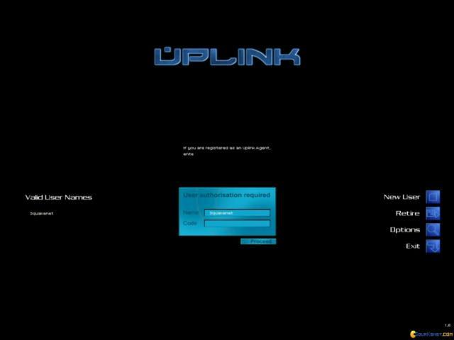 Uplink - title cover