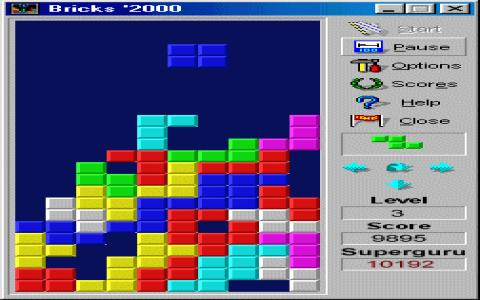 Bricks 2000 - game cover