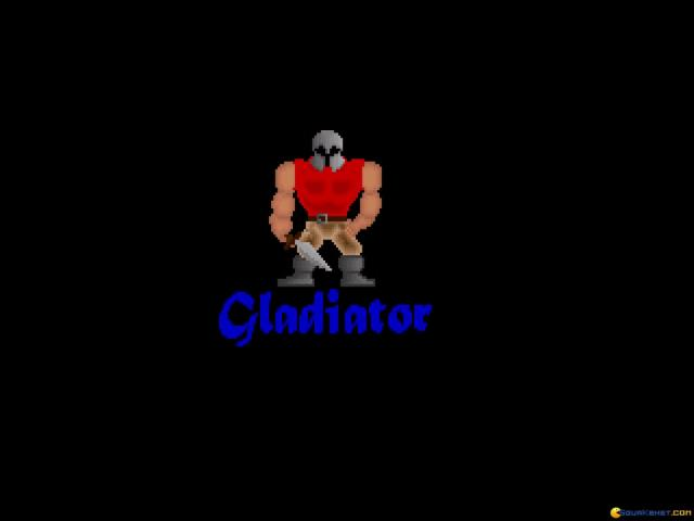 Gladiator - title cover