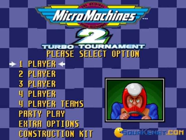 Micro Machines 2 - title cover