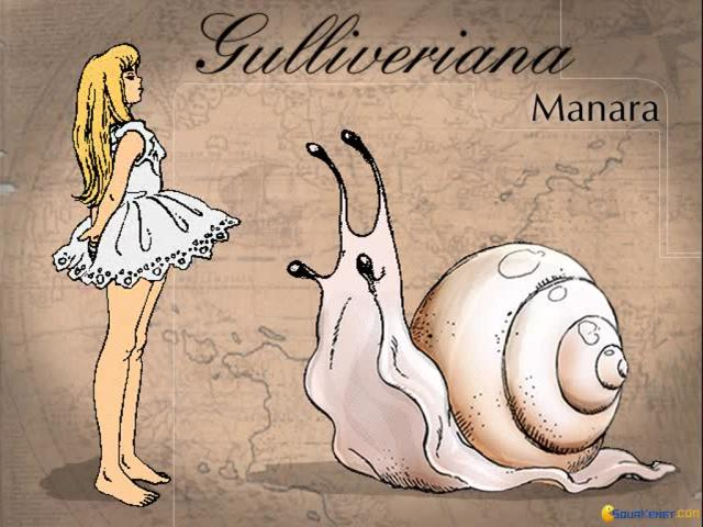 Gulliveriana - game cover