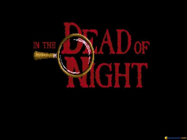 In the Dead of Night - title cover