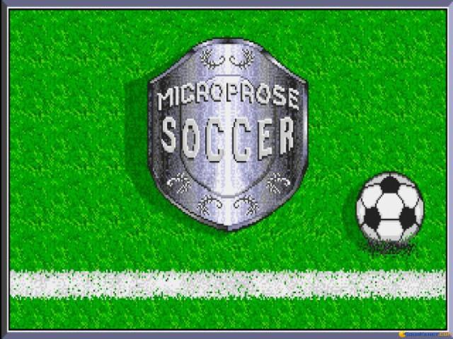 Microprose Soccer - game cover