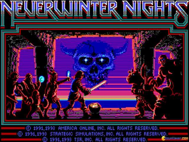 Neverwinter Nights - title cover
