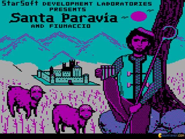 Santa Paravia - title cover