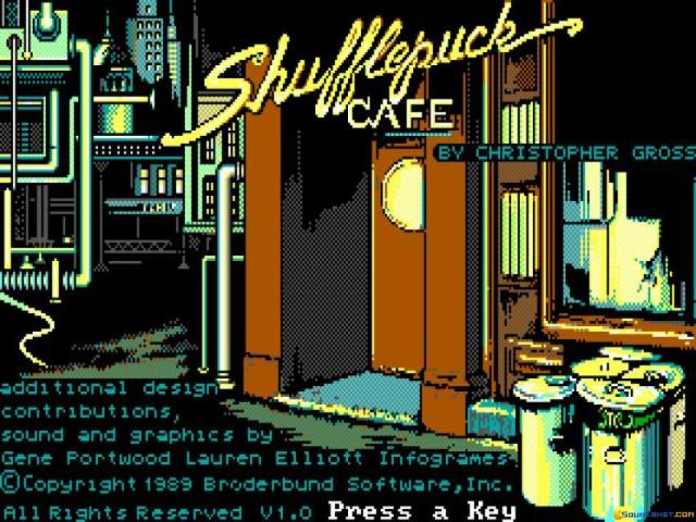 Shufflepuck Cafe - title cover