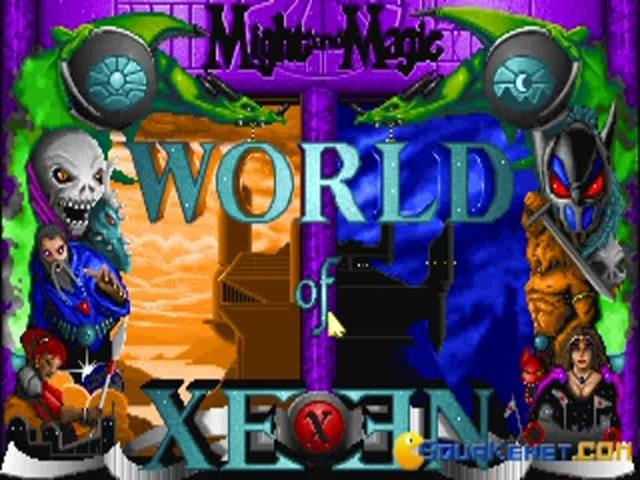 Might and Magic: World of Xeen - title cover