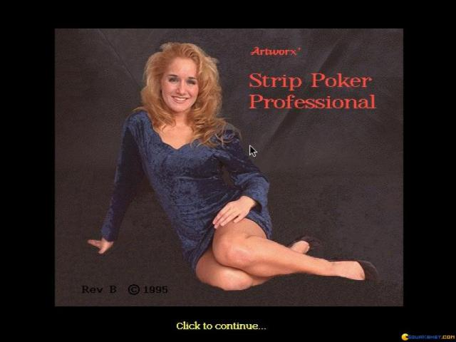 Strip Poker Professional - title cover