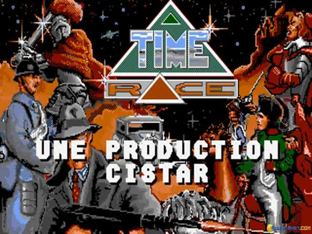 Timerace - title cover