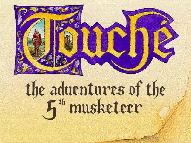 Touche: Adventures of The Fifth Musketeer - title cover