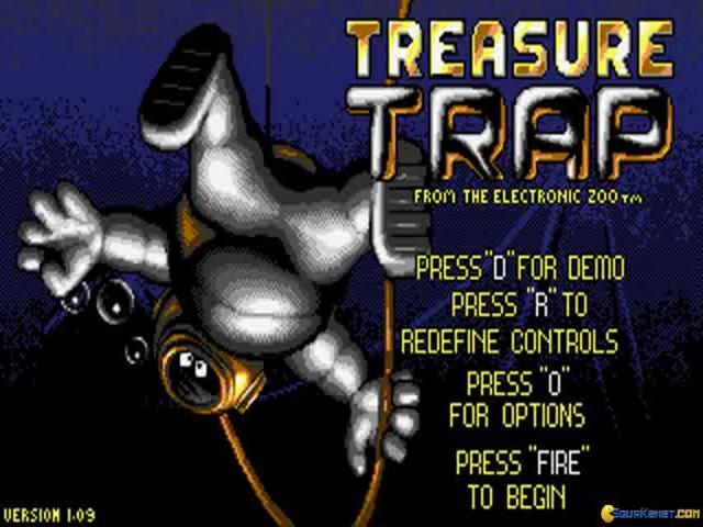 Treasure Trap - title cover