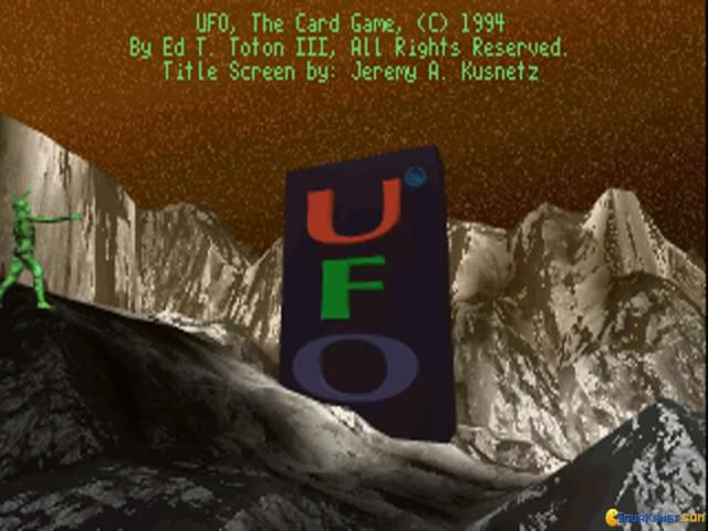 UFO: The Card Game - title cover