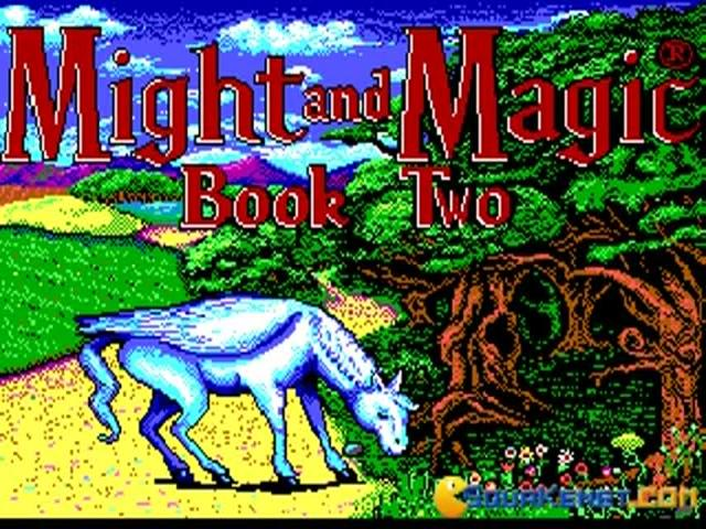 Might and Magic 2: Gates to Another World - title cover