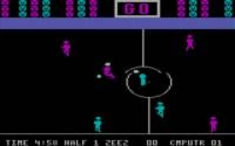 Five-a-Side Indoor Soccer - game cover