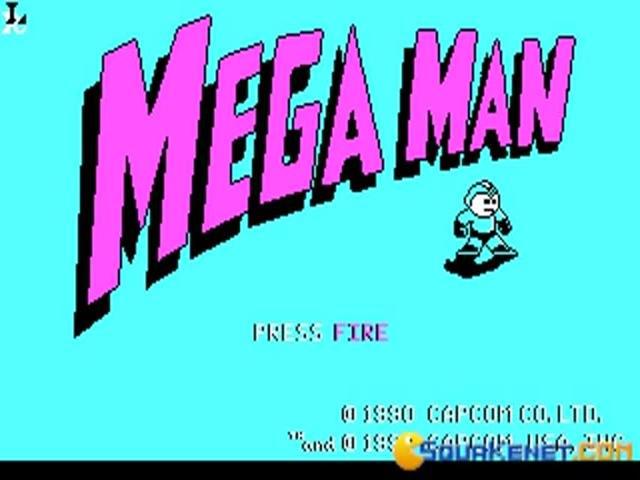 Mega Man - title cover