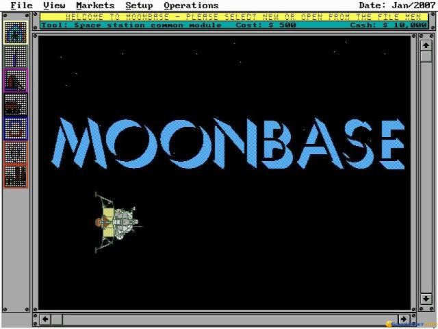 Moonbase - title cover