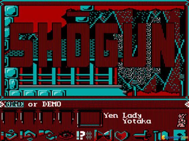 Shogun - game cover