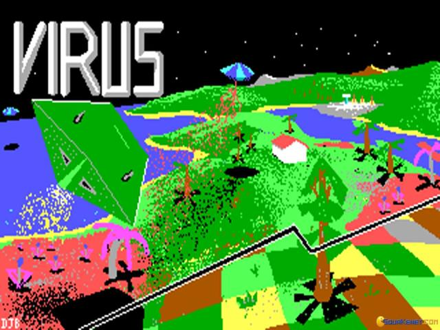 Virus - game cover