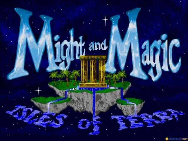 Might and Magic 3: Isles of Terra - title cover