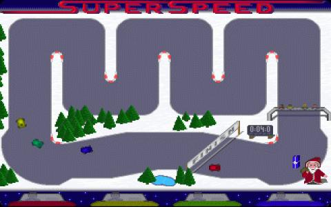 Super Speed Christmas Edition - game cover