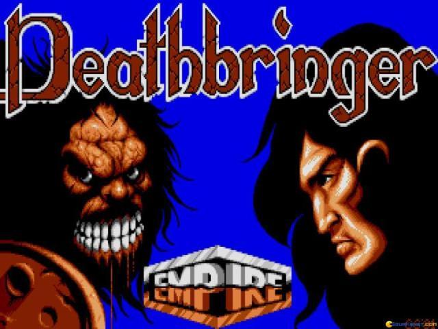 Deathbringer - title cover