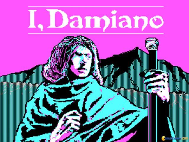 I, Damiano - title cover