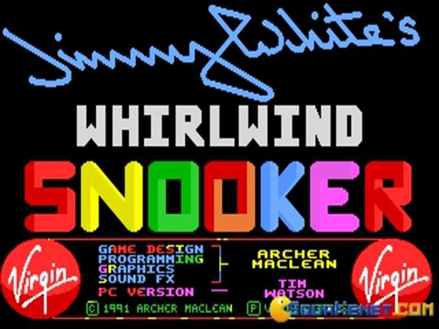 Jimmy Whites Whirlwind Snooker - game cover