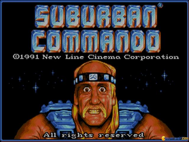 Suburban Commando - title cover