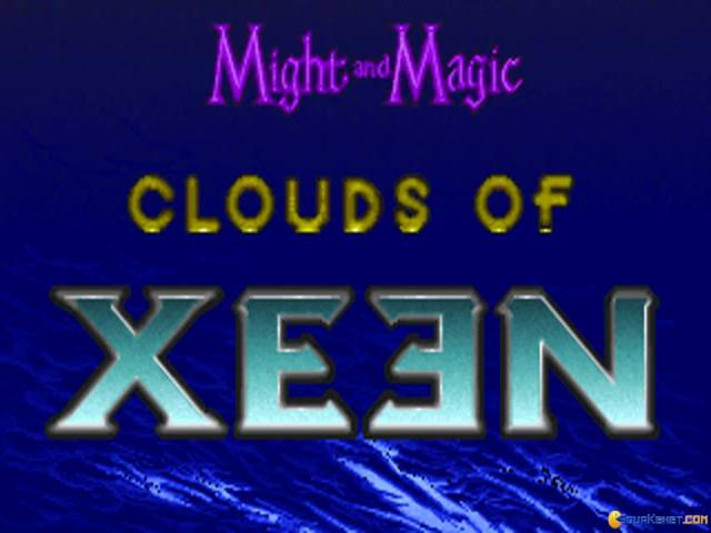 Might and Magic: Clouds of Xeen - title cover