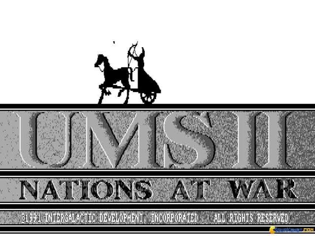 UMS II - Nations at War - title cover