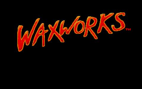 Elvira 3: Waxworks - title cover
