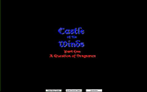 Castle of the Winds - title cover