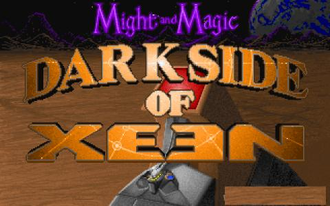 Might and Magic: Darkside of Xeen - title cover