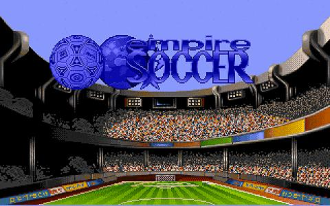 Empire soccer 94 - title cover