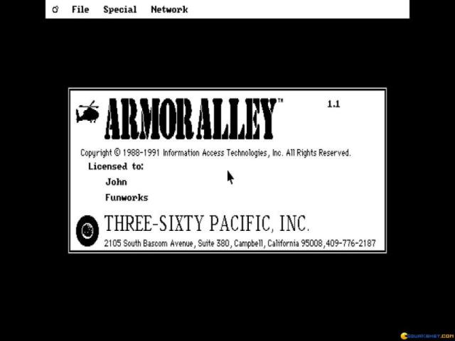 Armor Alley - title cover