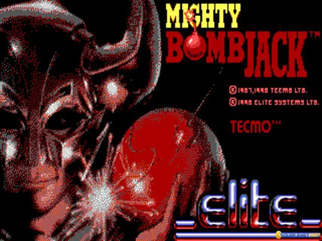 Mighty Bomb Jack - title cover