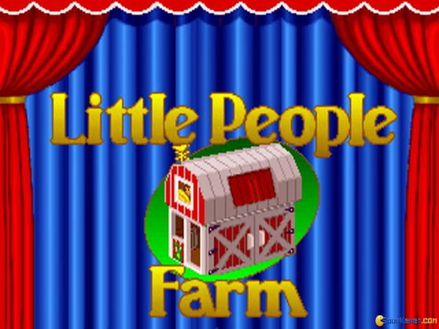 Little People Farm - game cover