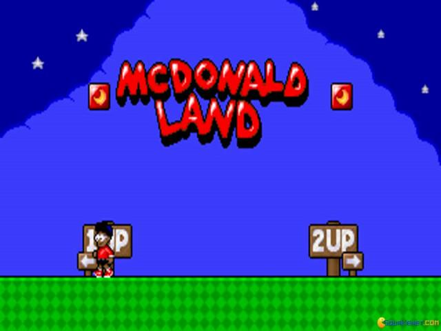 McDonald Land - title cover