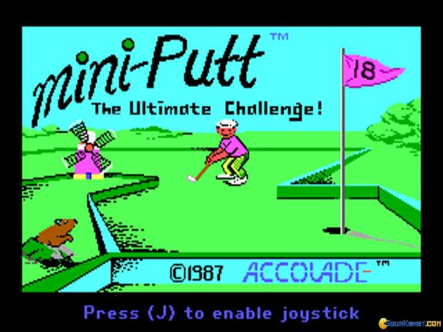 Mini Putt - title cover