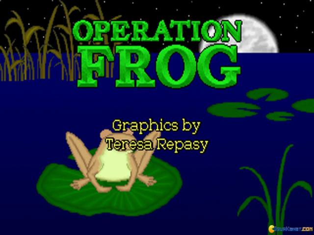 Operation Frog - game cover
