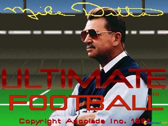 Mike Dikta Ultimate Football - game cover