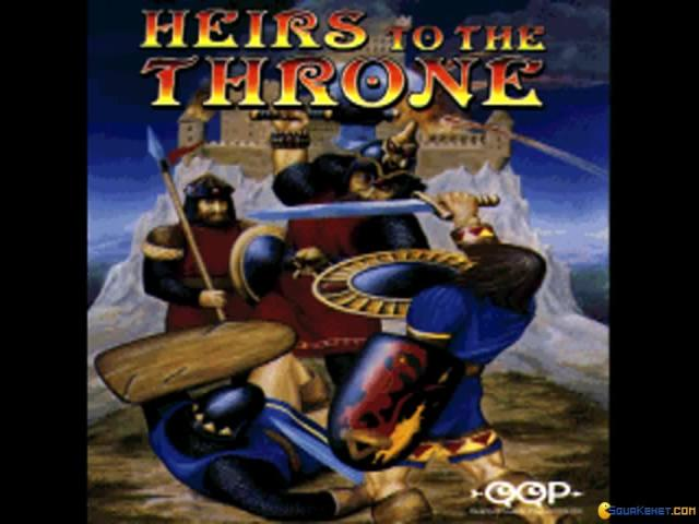 Heirs to the Throne - title cover