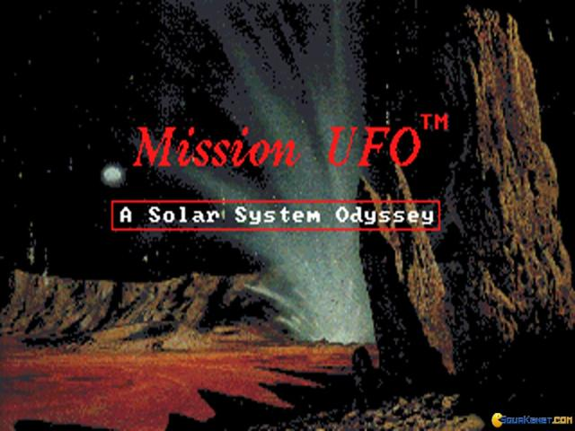Mission UFO - A Solar System Odyssey - game cover