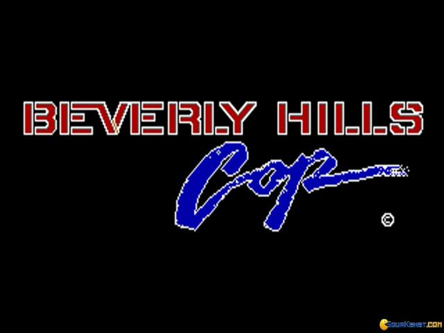 Beverly Hills Cop - title cover