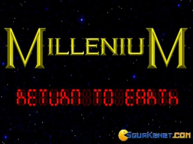 Millenium - Return to Earth - game cover