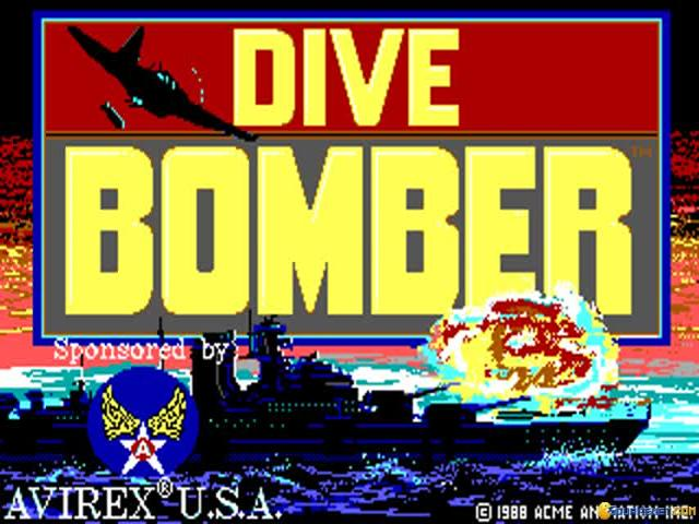 Dive Bomber - title cover