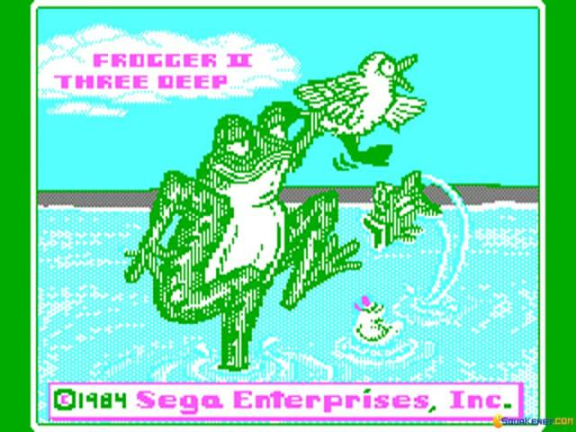 Frogger 2 - ThreeeDeep - title cover