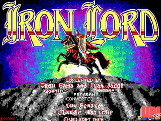 Iron Lord - game cover