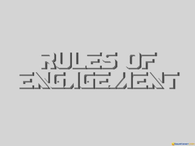 Rules of Engagement - title cover